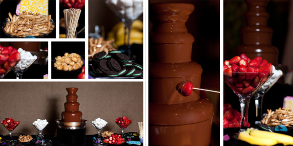 Elegant Events featuring Ghirardelli Chocolate Fountains